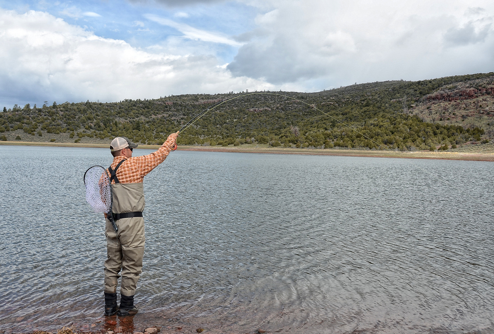 Landing fish a tale of heroism and tippet size fly for Tippet fly fishing