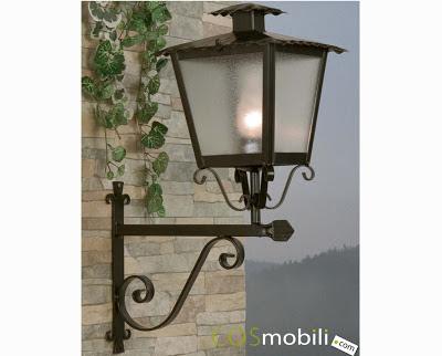 Dise o e interiorismo con forja iluminaci n para exterior for Faroles para jardin exterior