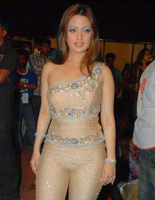 Riya sen's cameltoe show in a nude skin color tight dress probably not ...