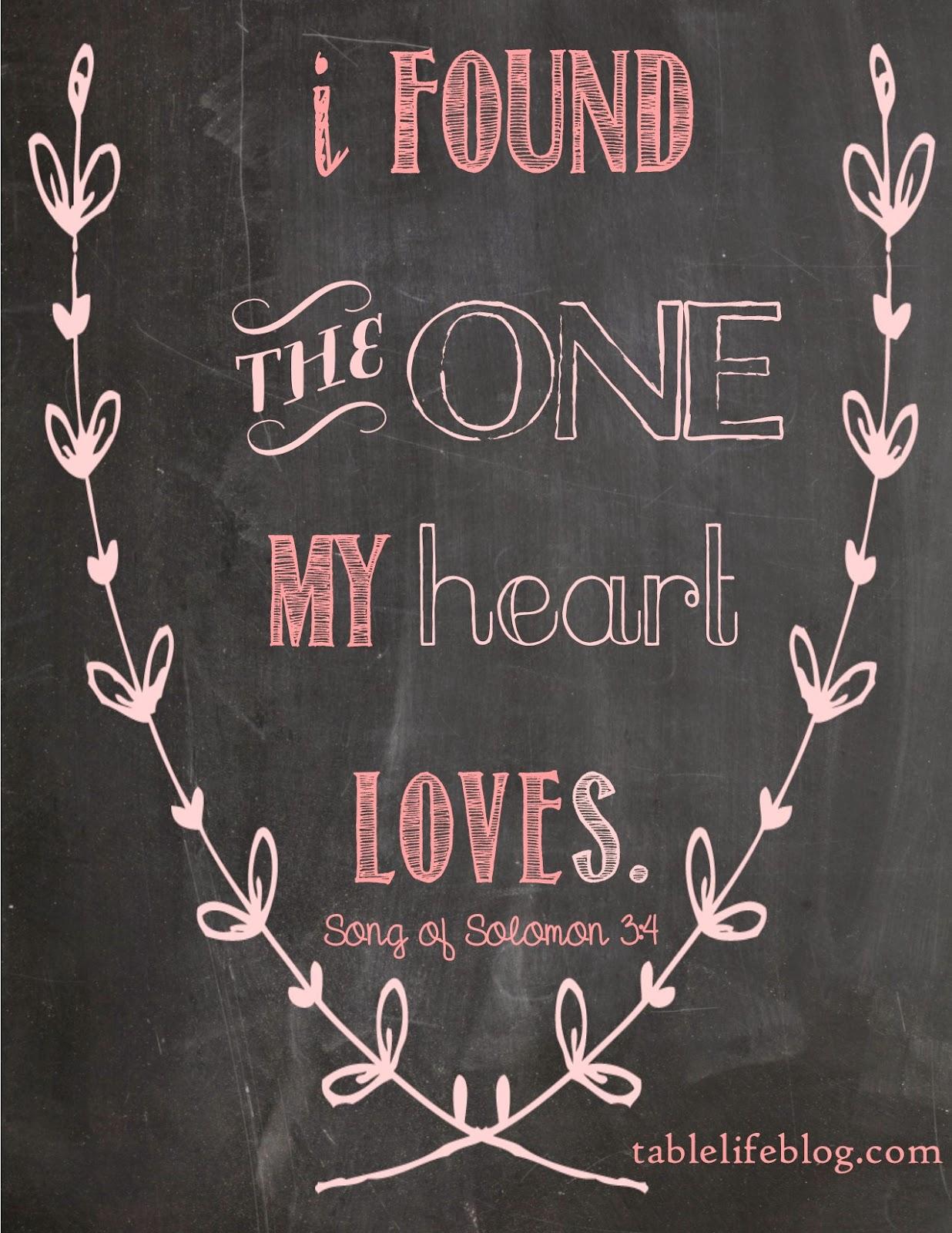 free valentines scripture print song of solomon 3:4 chalkboard printable