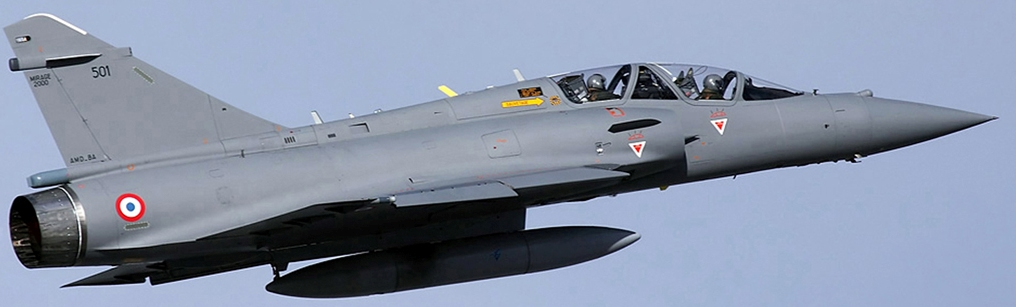 المقاتله الفرنسيه Dassault Mirage 2000  Indian+Air+Force+%2528IAF%2529+has+sent+2+of+its+Dassault+Mirage+2000H+Vajra+fighter+jets+to+France+for+upgrading+them+to+the+Mirage+2000-5+Mark+2+RDY-3+radar