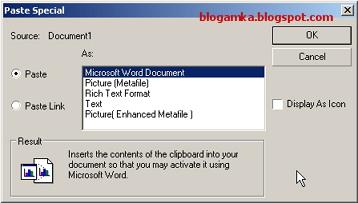 Cara memindahkan coreldraw ke microsoft word