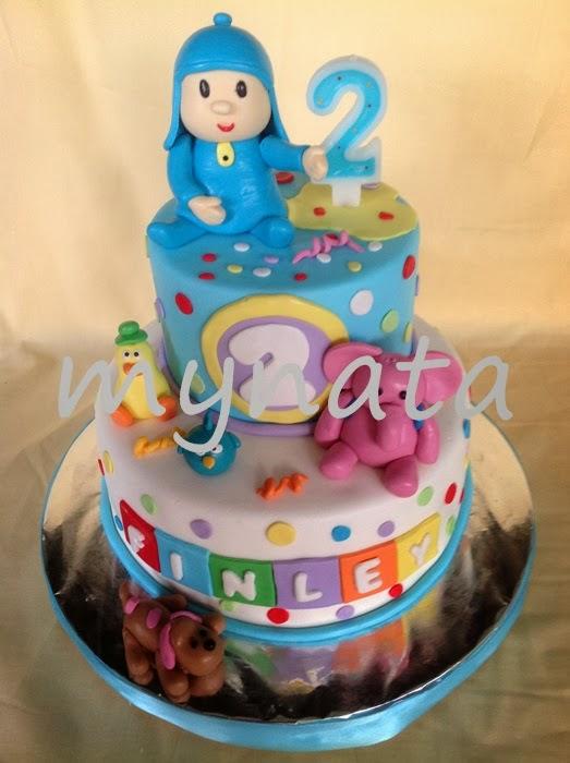 Mynata Cakes Pocoyo Birthday Cakes For Finley