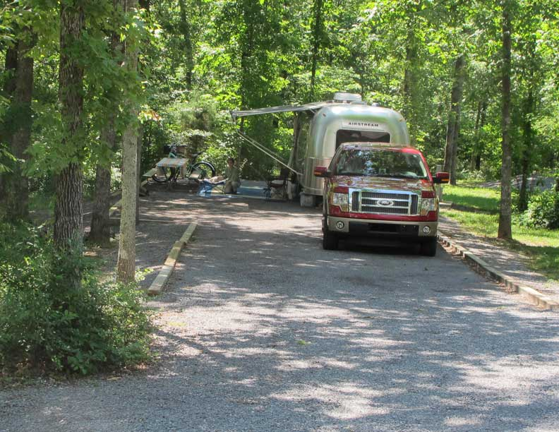 Our Site At DeSoto State Park