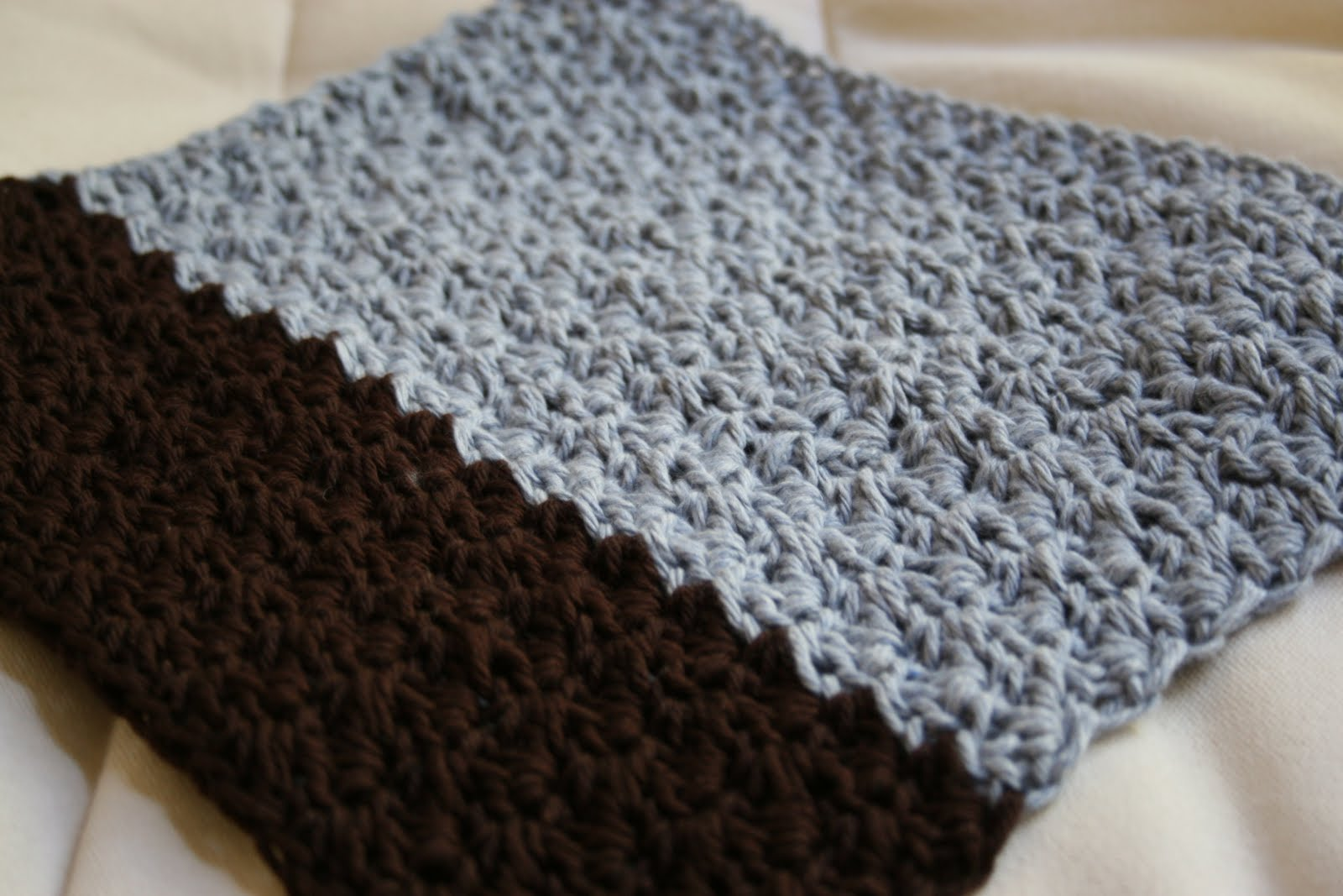 Crochet Stitches Grit : This is the Grit Stitch Washcloth from the Sandy Shore Washcloth Set ...