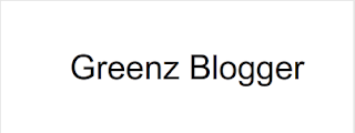 Tulisan Greenz Blogger pada Stage