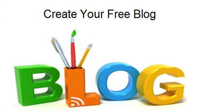 create a blog online free
