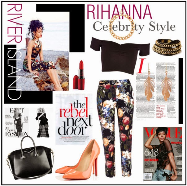 celebrity fashion rihanna
