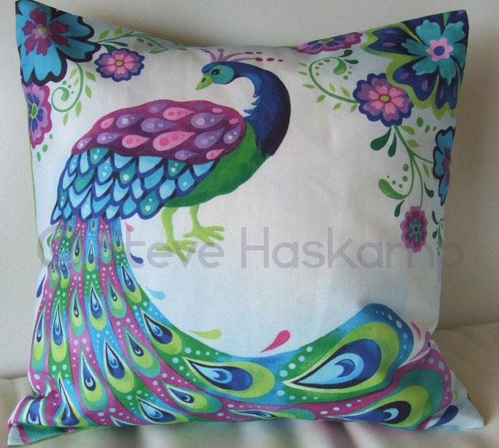Steve Haskamp s Blog: Peacock Pillow