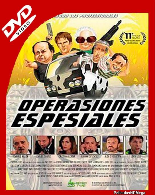 Operasiones Espesiales (2014) DVDrip Castellano