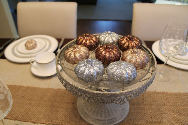 Fall Table Setting- Rustic Glam