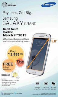 Harga Samsung Galaxy Grand I9082 Android Phablet