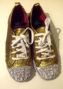 DIY- Miu Miu Sparkle Sneakers
