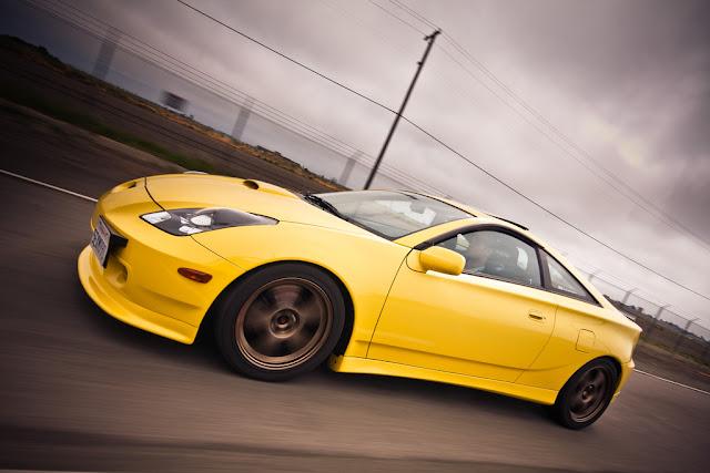 Toyota Celica T23, usportowiony samochód, zdjęcia, fajne coupe, ZZT230