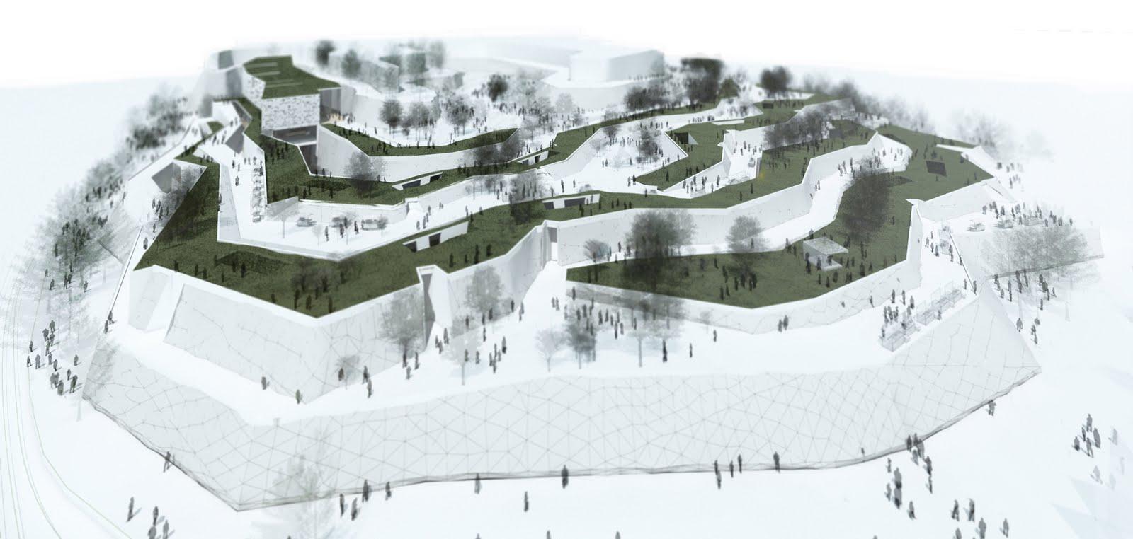 Infograf as para proyecto de fin de carrera de for Carreras de arquitectura