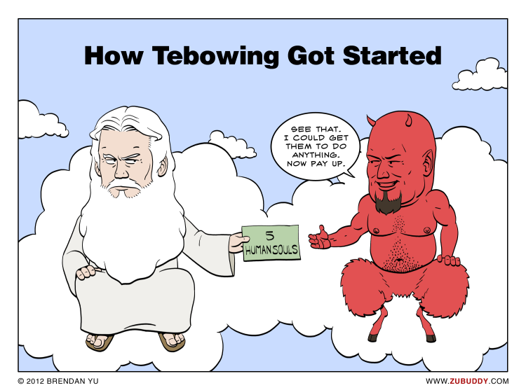 How Tebowing Got Started