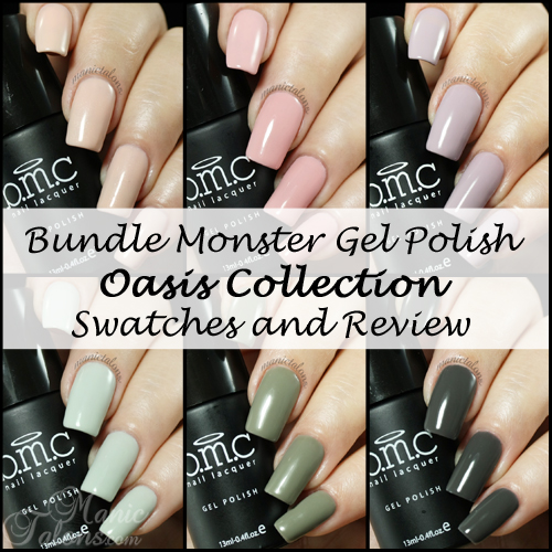 Bundle Monster Gel Polish Oasis Collection Swatches and Review