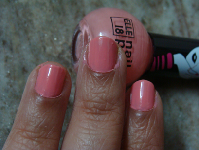 Elle 18 Nail Pops 48 Review | Kumkum\'s Beauty and MakeUp World
