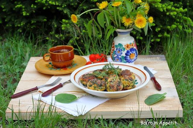 Kotleciki wegeteriańskie z kaszy jaglanej