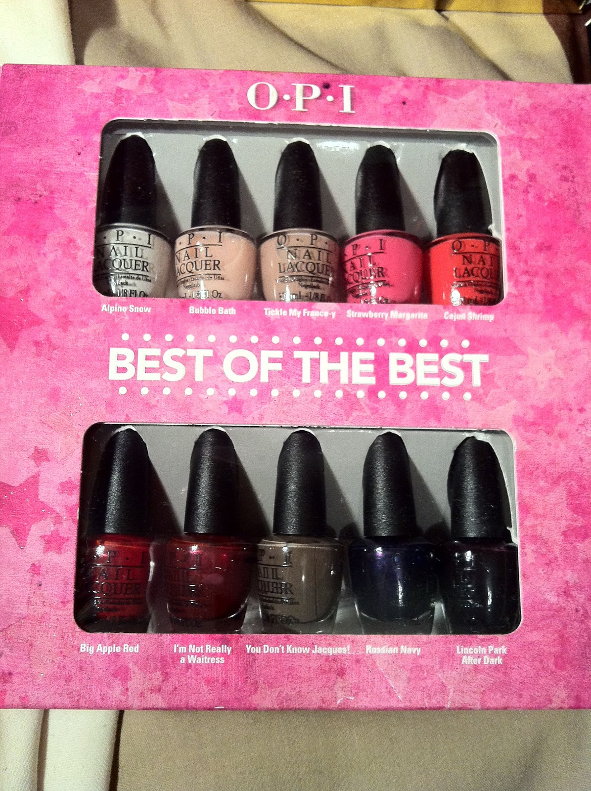 Brush up and Polish up!: OPI\'s Best of the Best Mini Nail Polish Set