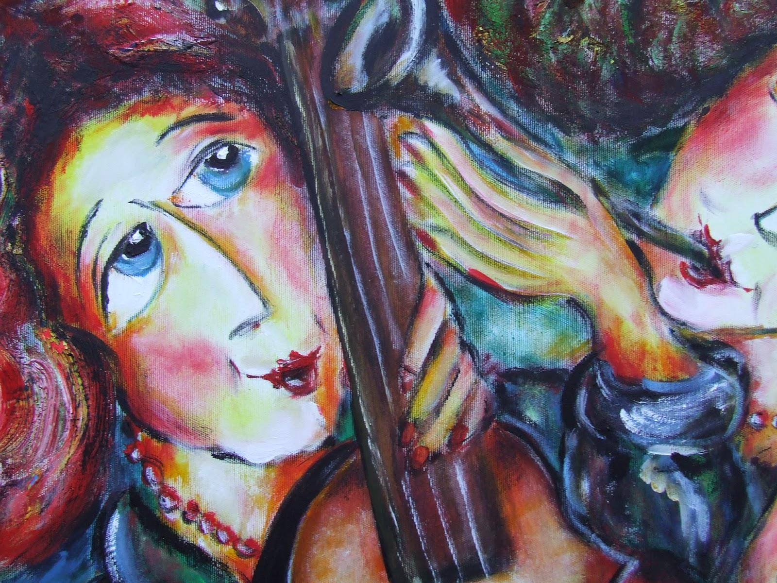 W.Ptica, malarstwo, malarstwo olejne