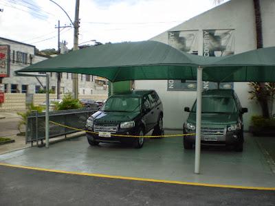 Toldo para garagem
