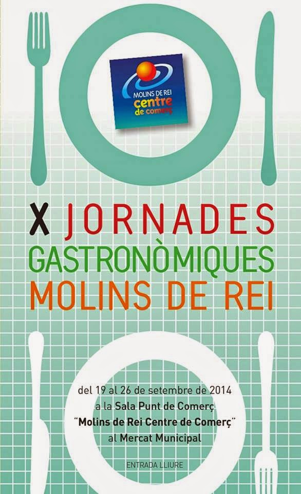 X Jornades Gastronòmiques de Molins de Rei