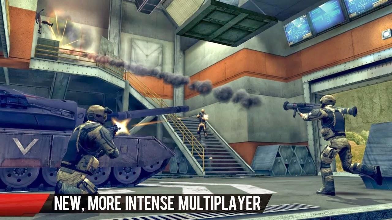 Modern Combat 4: Zero Hour v1.1.5 Mod [Unlimited Credits]
