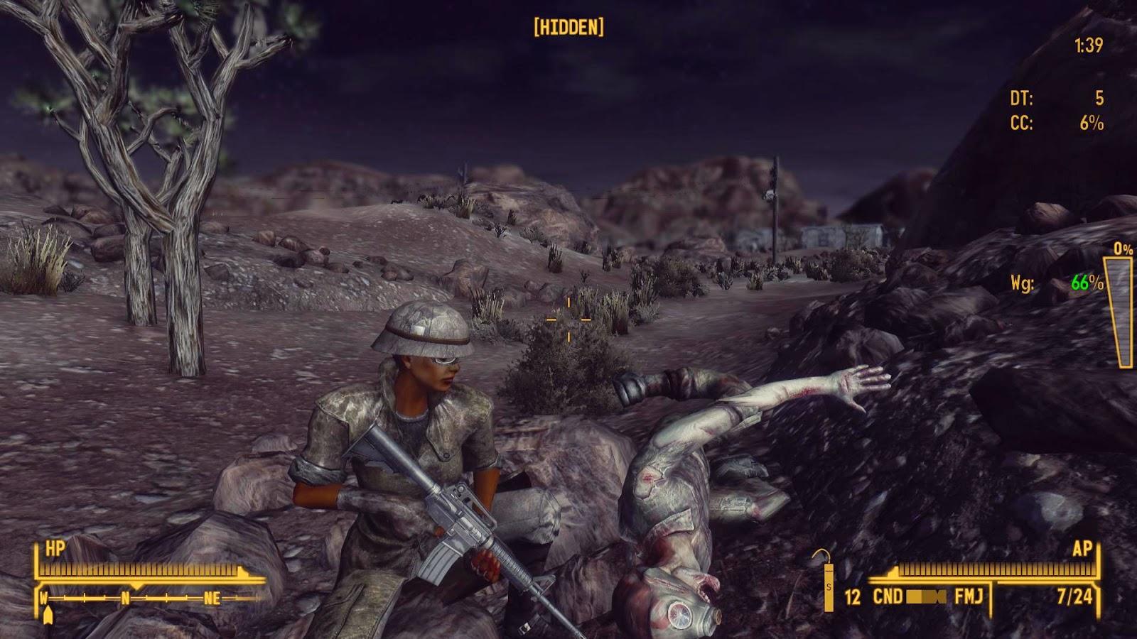 Fallout 3 мод на физику