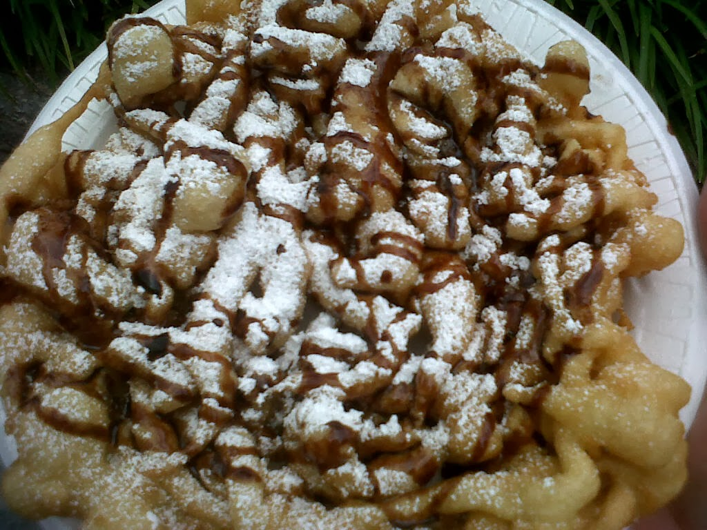 Pink-Lemon-Tree: Funnel cake