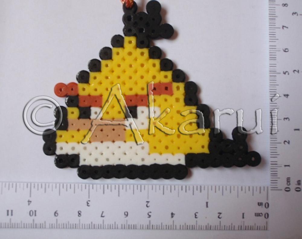 ayc angry bird yellow pyssla akarui