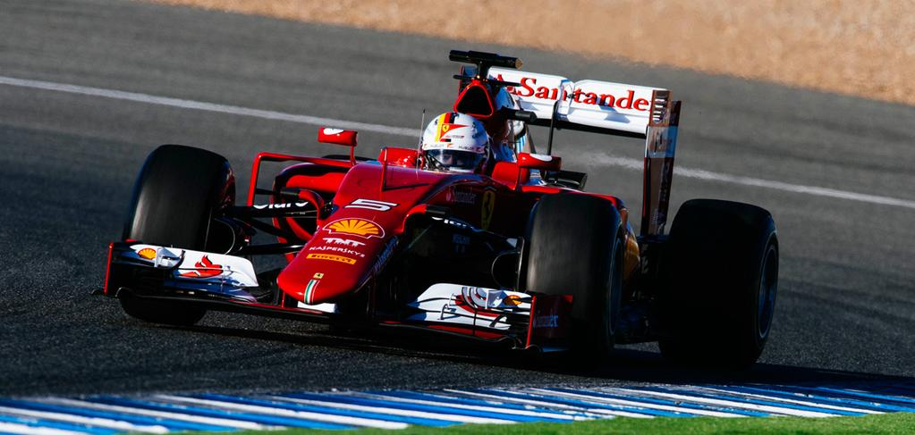 Ferrari F1 2015 - Sebastian Vettel