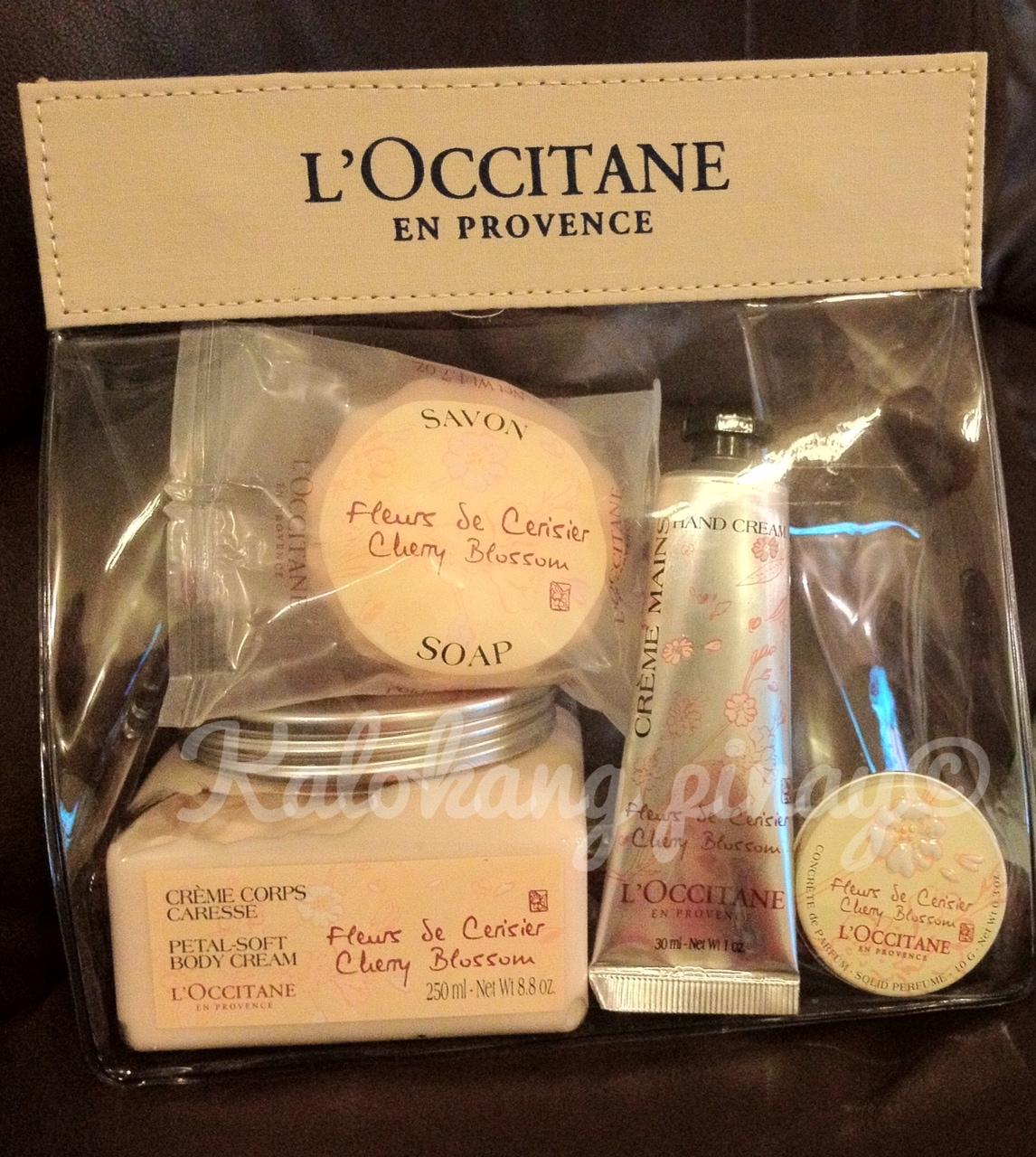LOccitane Cherry Blossom Gift Set