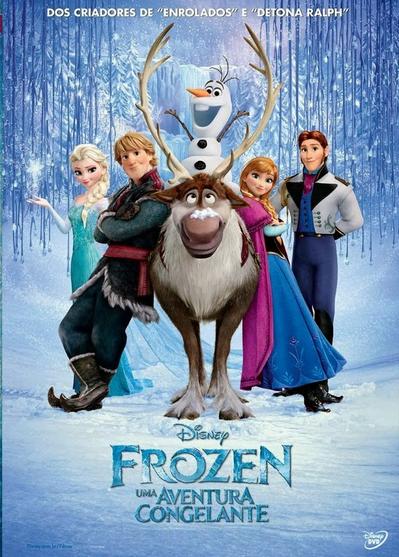 Filme Frozen Uma Aventura Congelante Dublado AVI BDRip