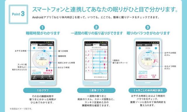 HSL-001 OMRON 睡眠計鬧鐘 配合app的使用記錄睡眠品質