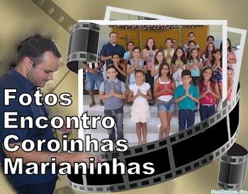 Fotos do 1º Encontro de Formação de Coroinha e Marianinha
