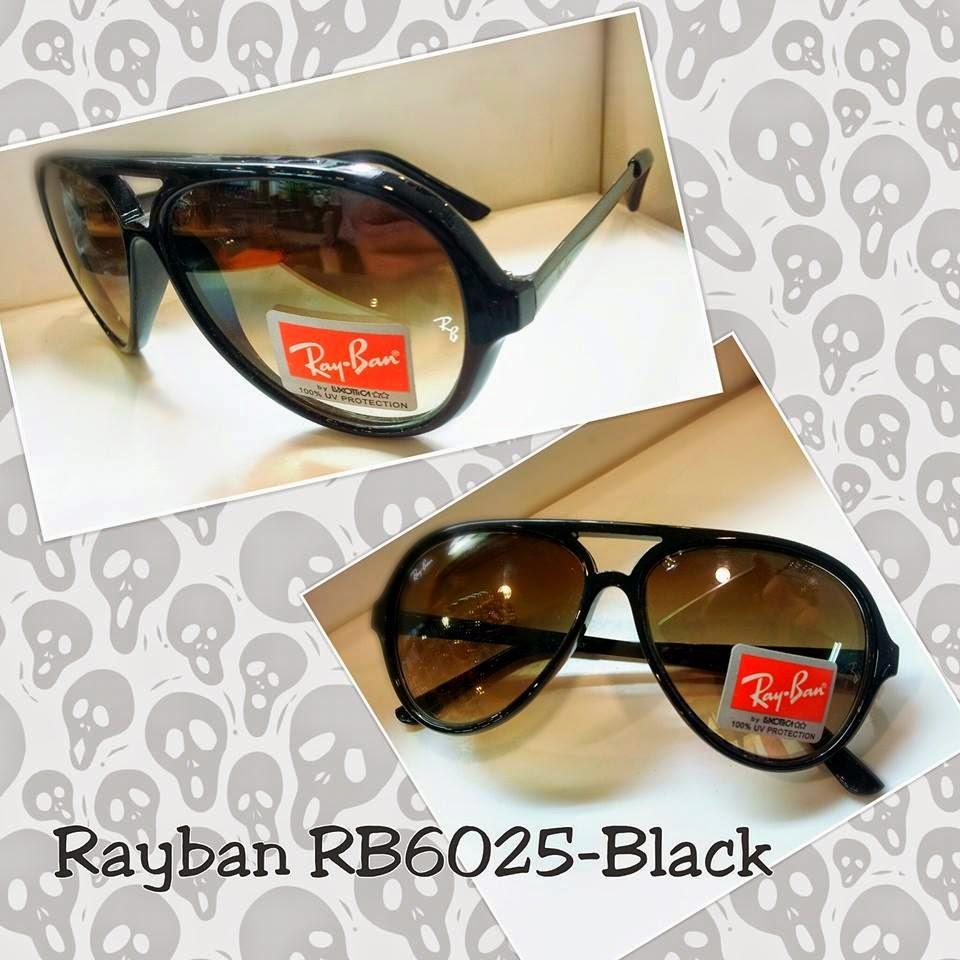 Kacamata Rayban 6025 hitam 48314ca406