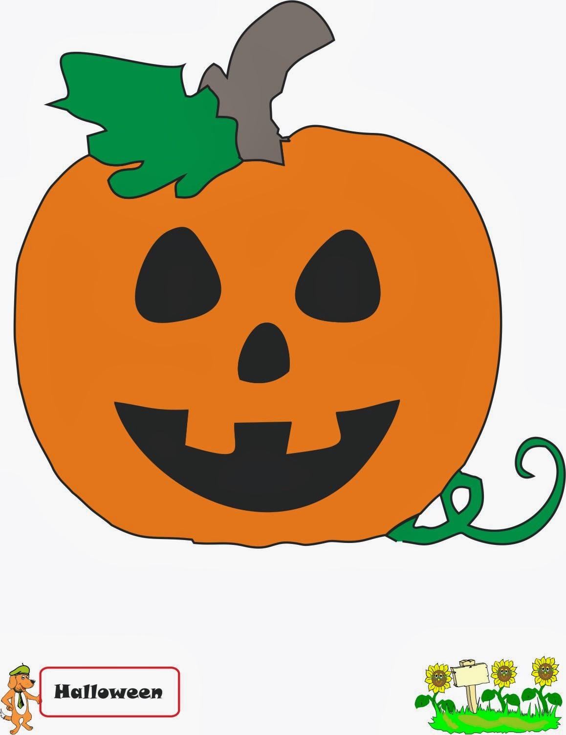 A scuola con poldo filastrocche di halloween for Zucca halloween luminosa