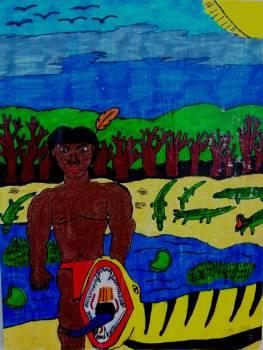 TrocadeCartões-Postais Mata Atlântica X Floresta Amazônica Gabriella (S.Paulo) X Victor (Manaus)