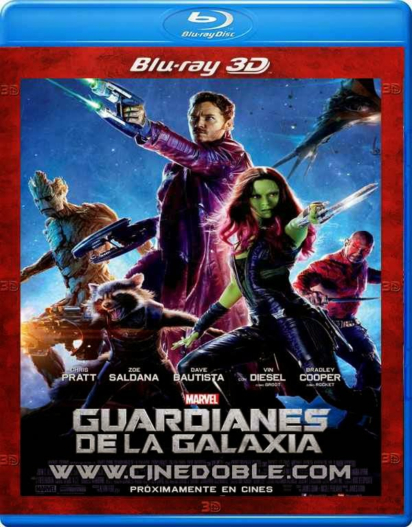 Guardianes de la Galaxia (2014) 3D SBS 1080p Latino