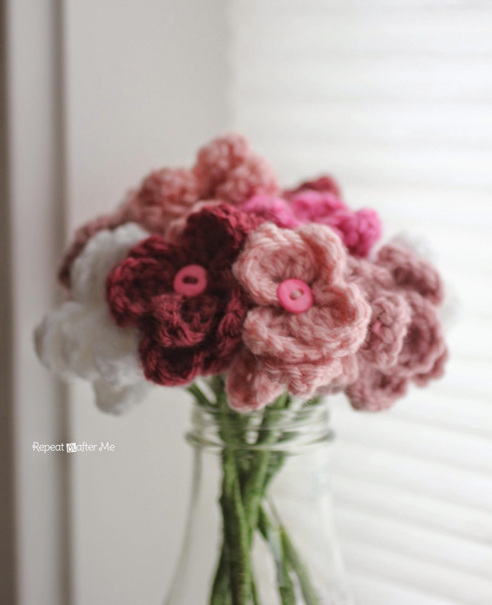 Kayra molek crochet crochet flower bouquet i would love to see your crochet bouquets izmirmasajfo