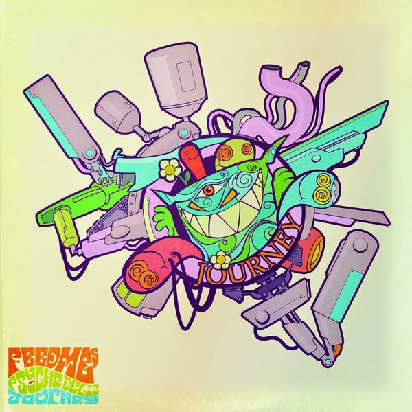 Feed Me - Feed Me's Psychedelic Journey - EP Cover