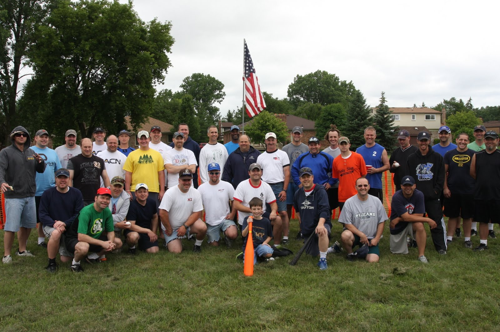 the future is plastics sign up for  wiffle ball tournament: american colonial homes brandon inge