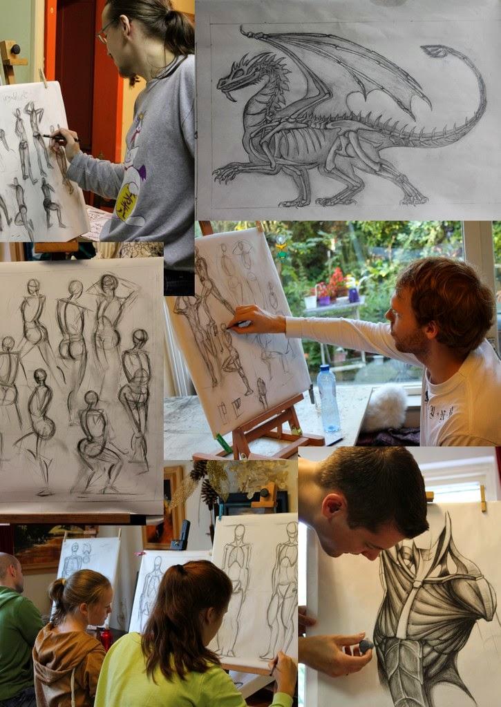 anatomie, anatomie tekenen, figuren, HKU, mensen, NHTV, schetsen, tekenen, tekenles, tekenlessen, WDKA,