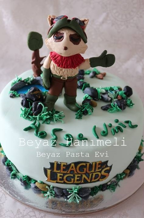 League of legends Timo Pastası