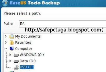Como criar um Backup dos arquivos do computador