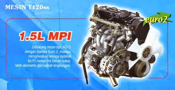 Mesin Mitsubishi Colt T120ss 2014