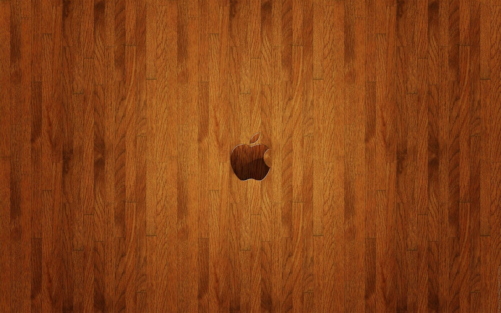 Apple Brown Wooden