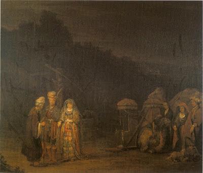 יצחק פוגש את רבקה