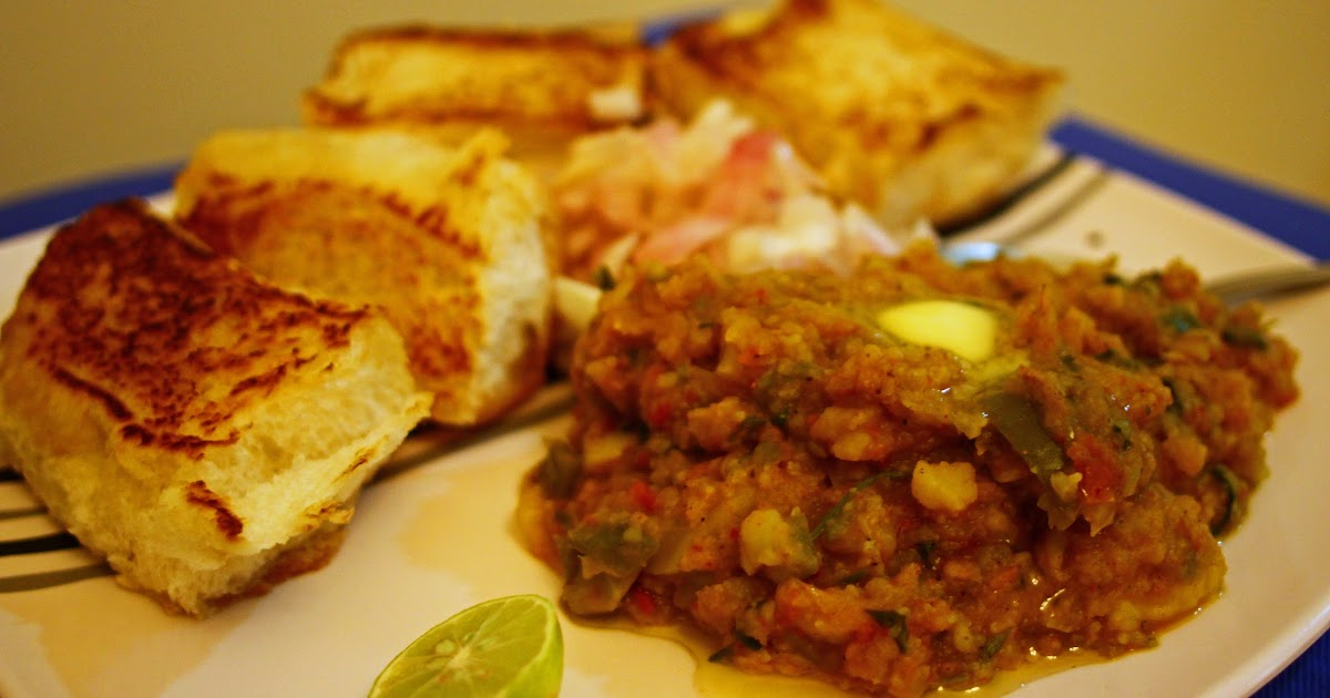 Niti agni recipes pav bhaji indian street food for Agni indian cuisine